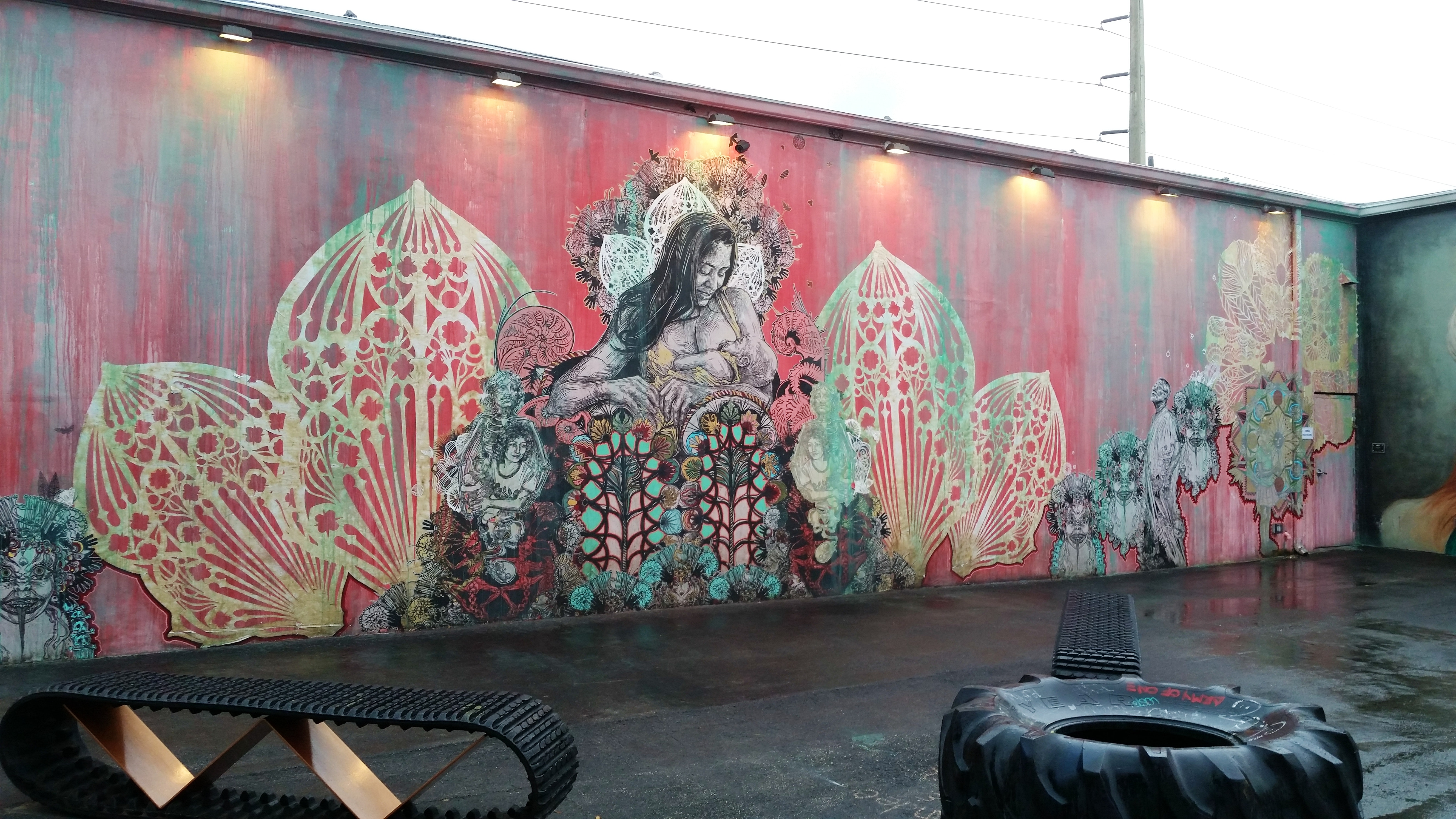 Swoon at Wynwood Walls