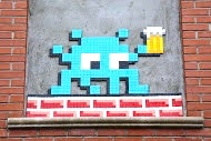 Space Invader has a Beer