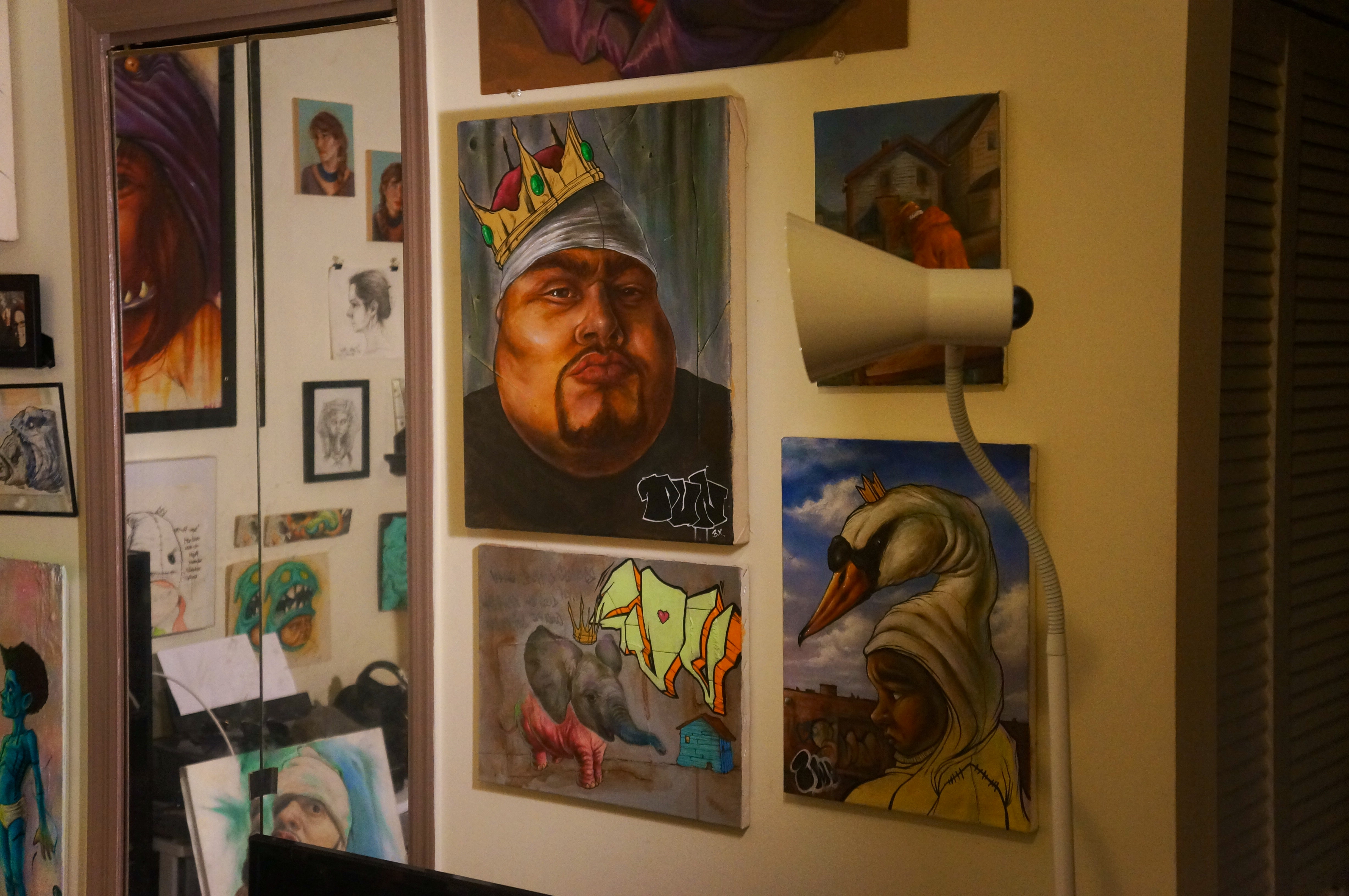 Portrait of Big Pun by Rob Plater