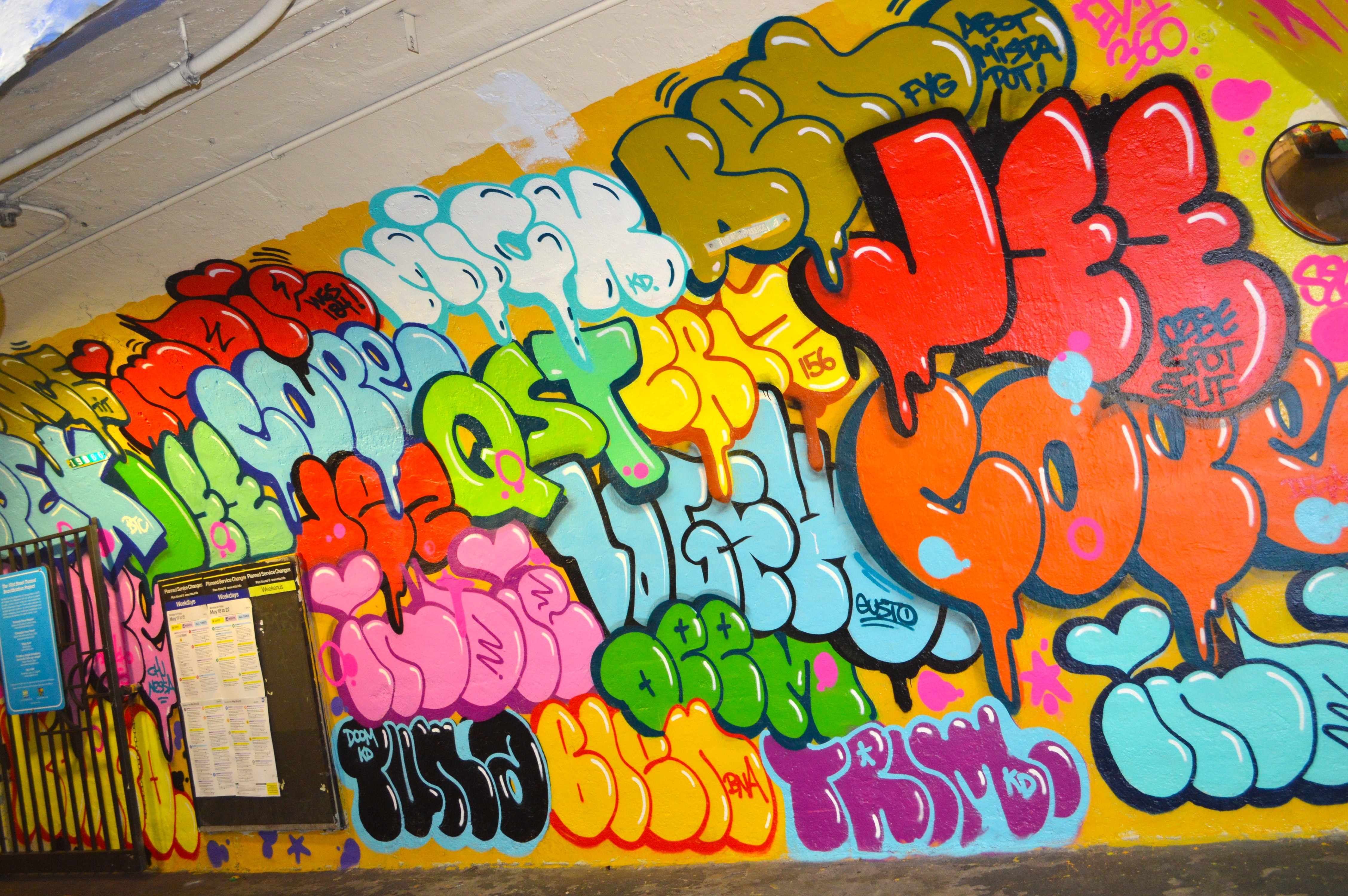 Classic NYC Throw Ups by COPE, Indie 184 and more