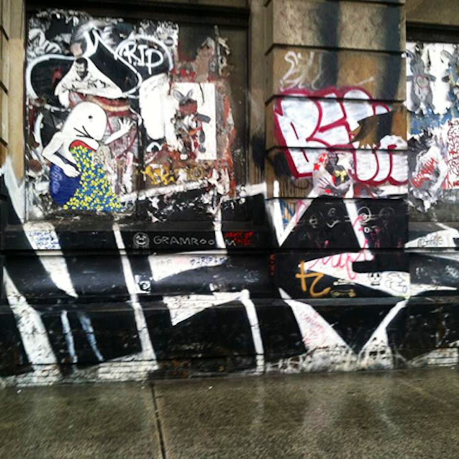 A Throw Up in memory of NEKST at 190 Bowery
