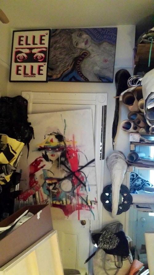 Storage Closet Elle's Studio (Greenpoint Brooklyn)