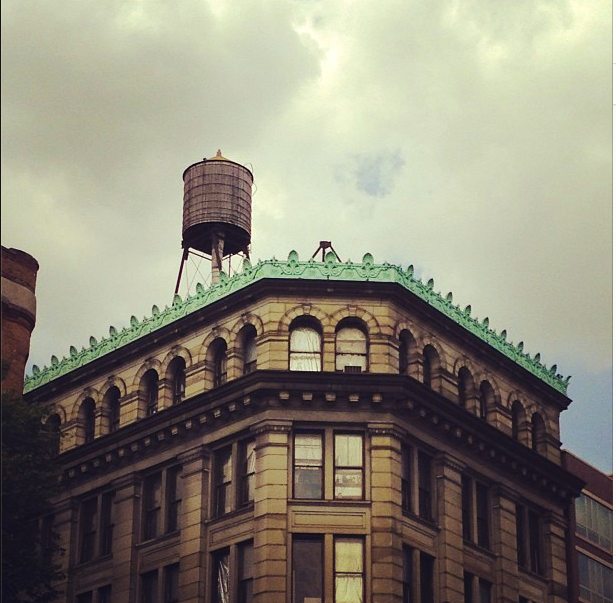 View of Rooftop of 190 Bowery