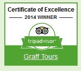 Graff Tours Certificate of Excellence 2014