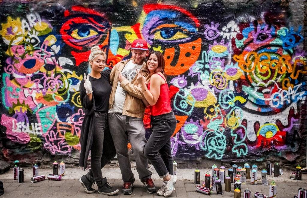 Gabriel Schoenburg | Graffiti Artist and Tour Guide NYC
