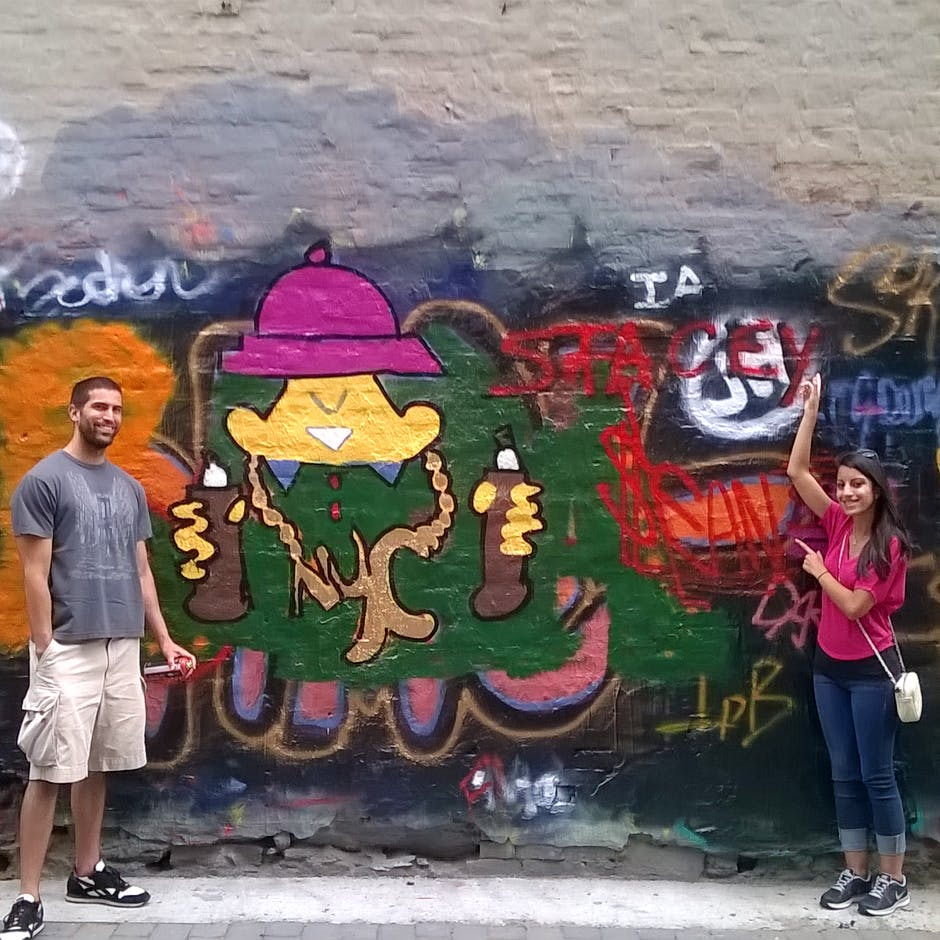 """Graff Tours"" workshop for a couple from Long Island – May 2015 led by Gabriel Schoenberg"
