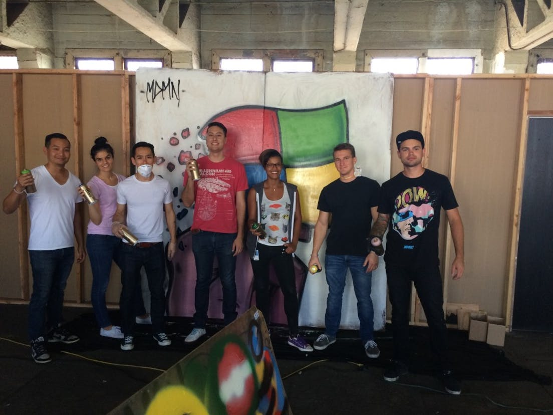 Microsoft Graffiti Workshop