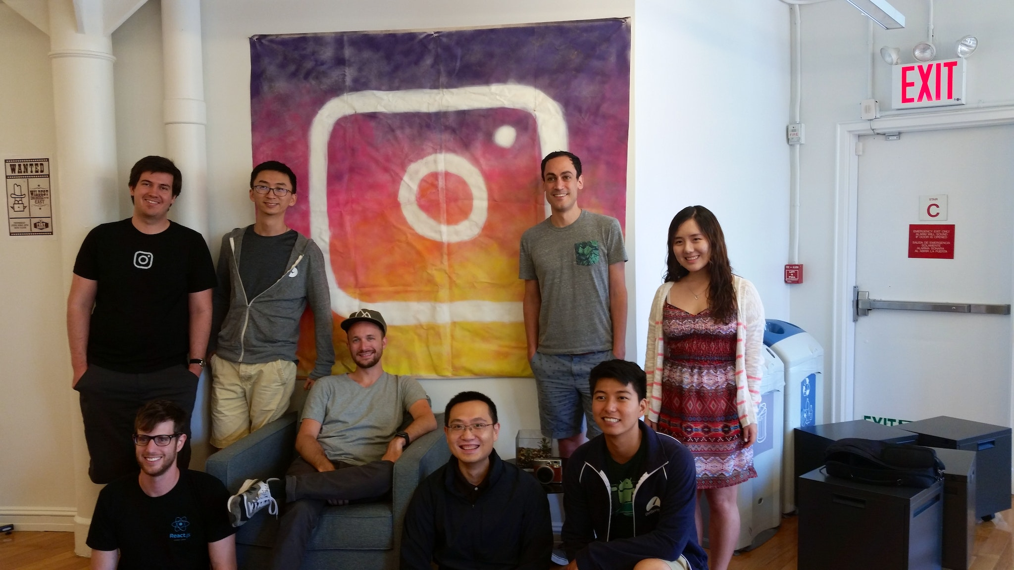 Collaboration with the Instagram Office NYC