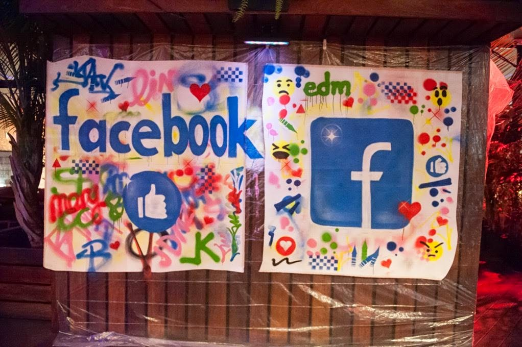 Facebook Logo - Created by FB Employees