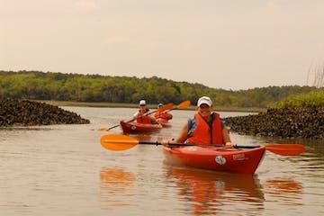 kayaker on water