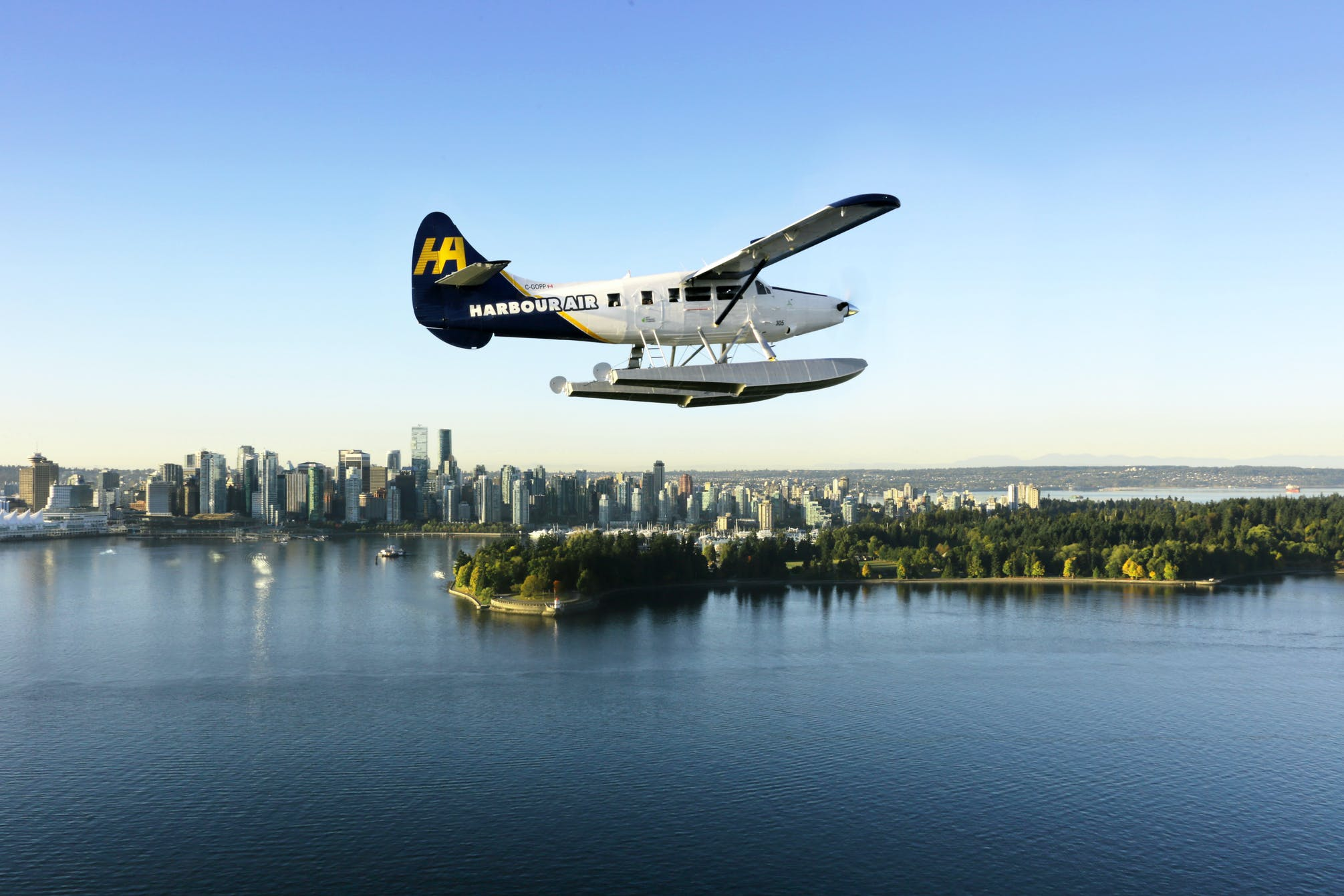 Harbour Air seaplane
