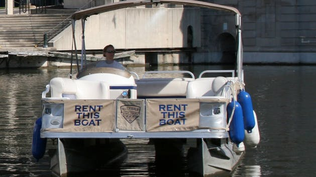 Riverwalk Boat Tours party barge rental
