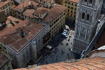 A square in Florence