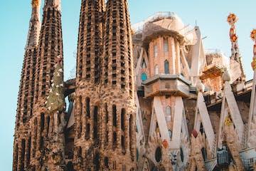 Façade of Sagrada Familia