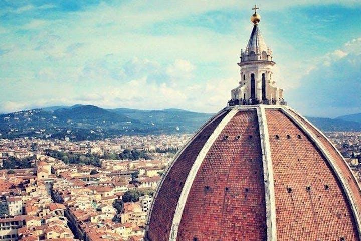 Duomo's cupola in Fllorence