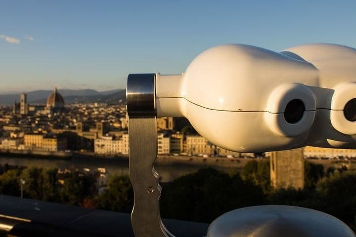 A binocular on Florence