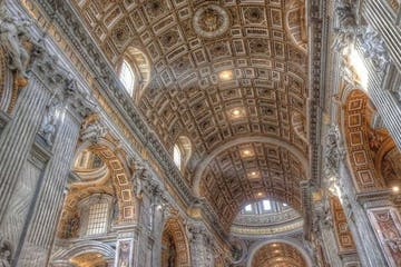 Interior of Vatican