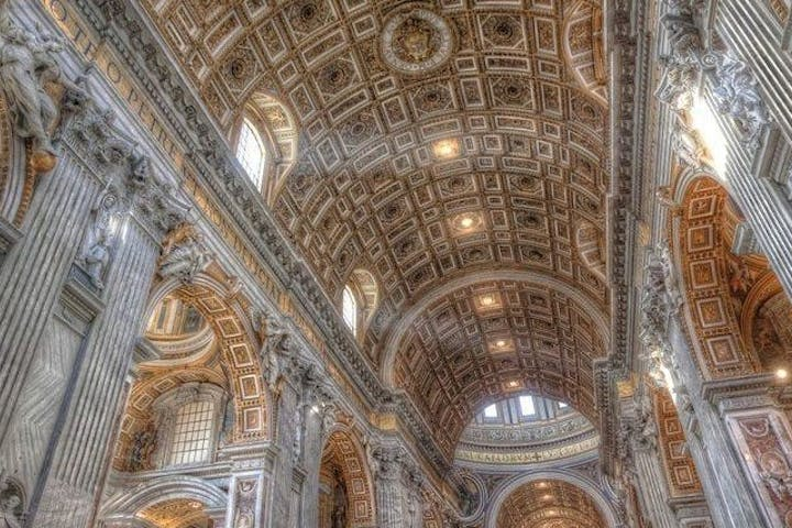 Interior of Vatican