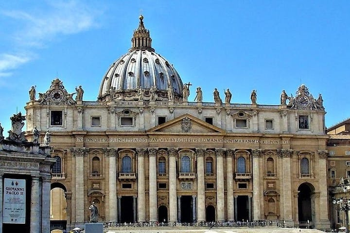 The square of Vatican