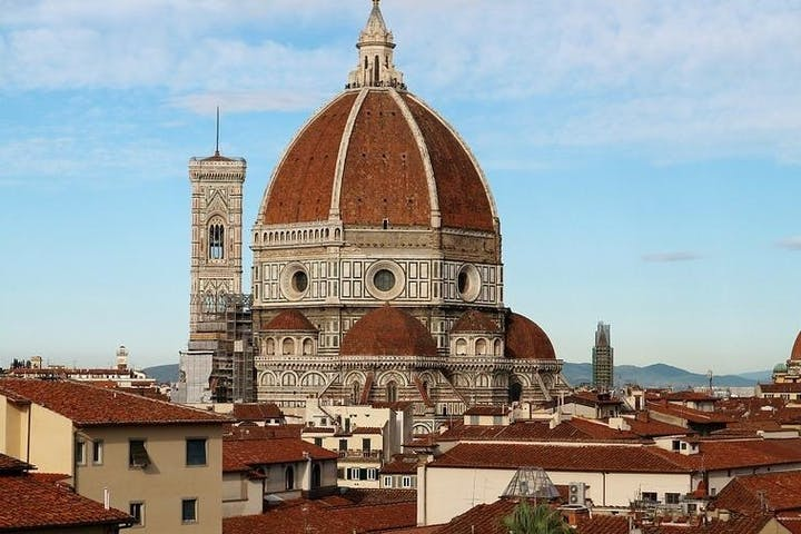 The cupola of the Duomo in Florence