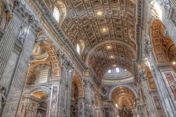 St. Peter basilica interior