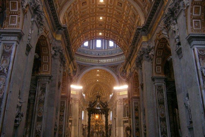 Vatican Basilica in Rome