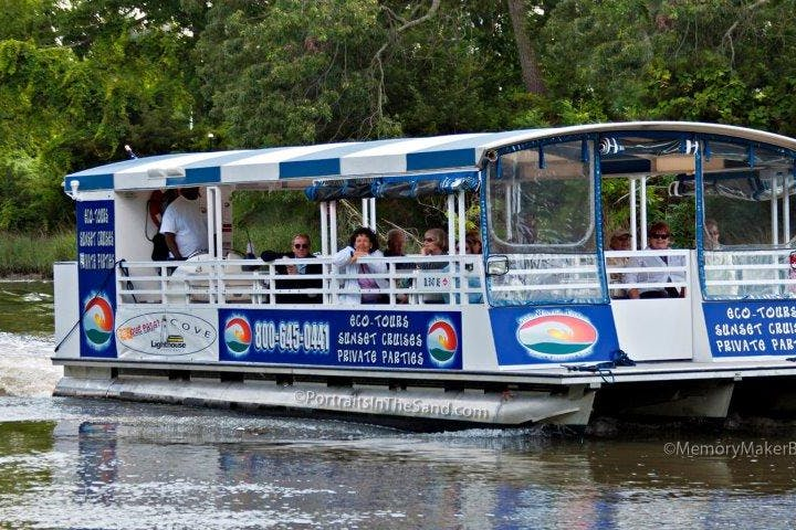 Cape Water Taxi boat on river