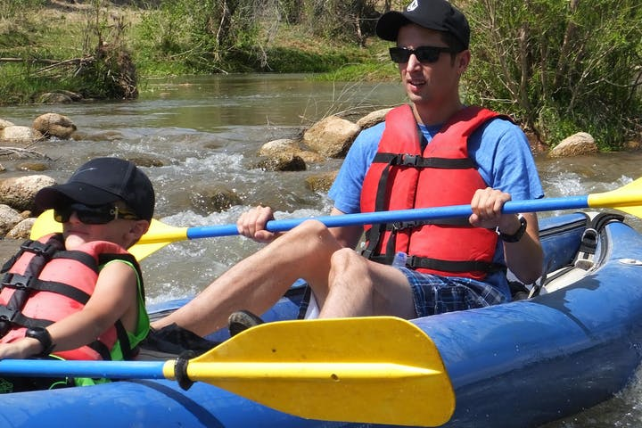 Tandem Kayak on Verde River