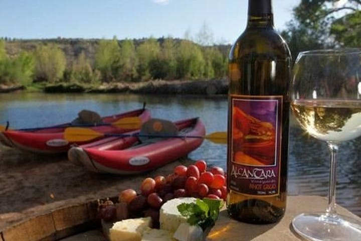 Wine, cheese, and kayaks on Verde River