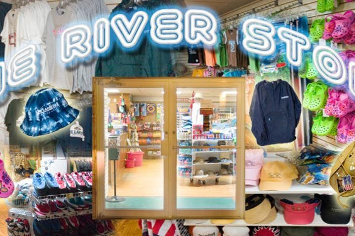 the river store image with retail items