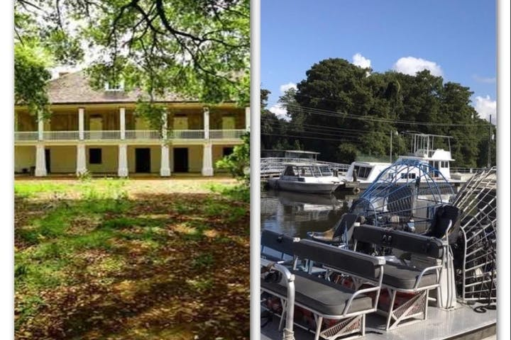 irboat Swamp Tour & Whitney Museum Plantation