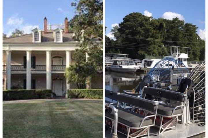 Airboat Swamp Tour & Oak Alley Antebellum Plantation