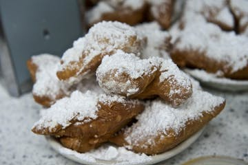 Beignets from the French Quarter during a tour with Two Chicks Walking Tours in the New Orleans Metro area
