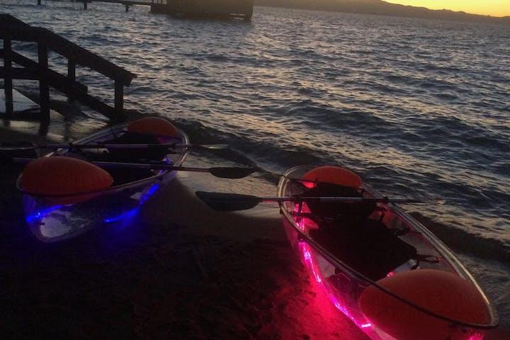 Edgewood LED kayaks