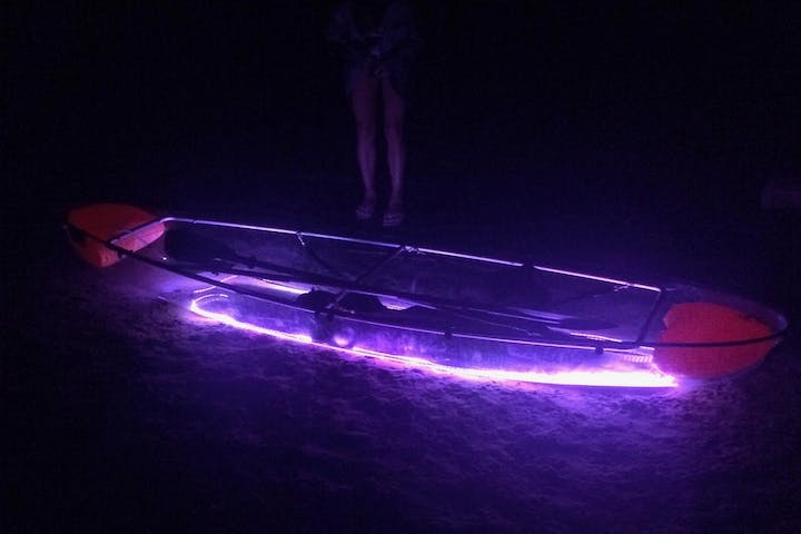 LED kayak Tour from the Landing