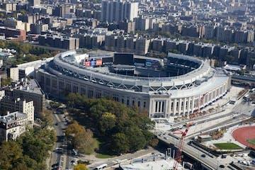 yankee stadium overhead view