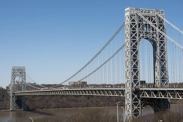george washington bridge in the daytime