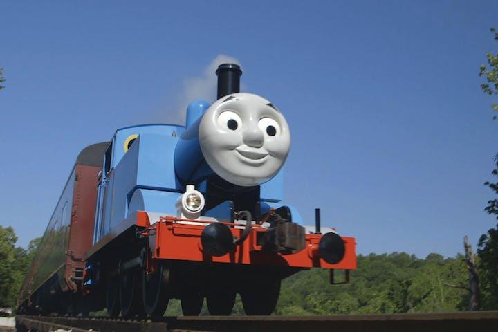 Thomas the Tank Engine underway