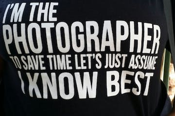 T-shirt saying