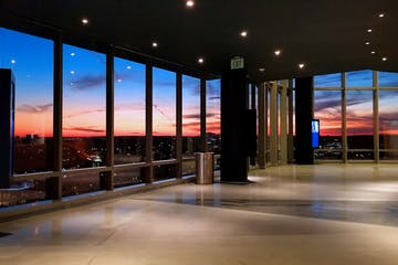 Sunset at Central Place Tower