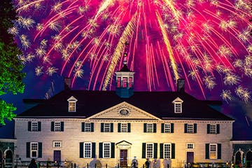 Mount Vernon Indpendence Day Fireworks
