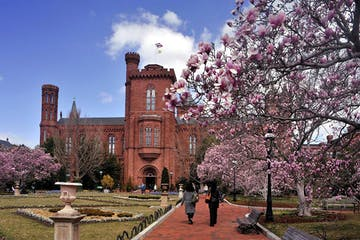 Smithsonian Castle & Enid Haupt Garden, Washington, DC