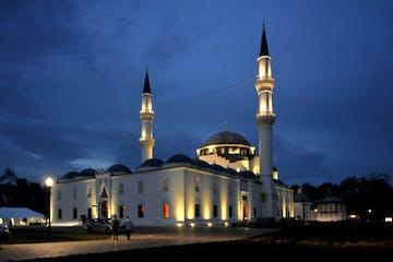 Diyanet Mosque at Twilight
