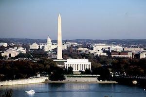 DC Skyline from Arlington, VA