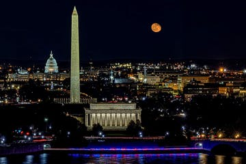 DC Skyline from Top of the Town by Alton Marsh