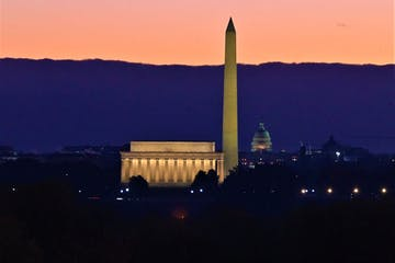 View of DC Skyline from Arlington