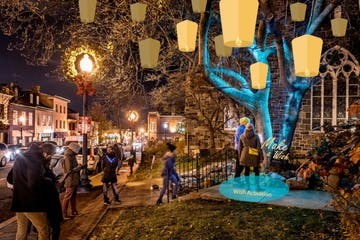 Georgetown Glow 2021: Wish Walk