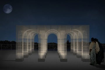 Georgetown Glow 2021: Light Pavilion