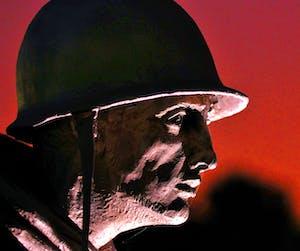 Korean War Memorial at Night