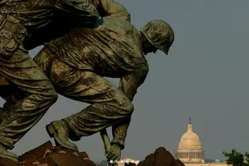 Marine Corps Memorial and Washington DC